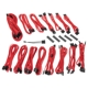 Kit cabluri modulare BitFenix Alchemy 2.0 EVG-Series Red