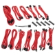 Kit cabluri modulare BitFenix Alchemy 2.0 SSC-Series Red