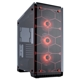 Carcasa Corsair Crystal 570X RGB Tempered Glass Red