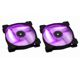 Ventilator 140 mm Corsair SP140 Purple LED Twin Pack