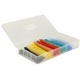 Set tuburi termocontractabile Delock heatshrink 100 piese, box, multicolor