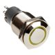 Intrerupator Dimastech Push Button Antivandal 16mm Yellow LED