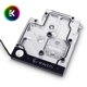 Waterblock all-in-one EK Water Blocks EK-FB GA AX370 Gaming RGB Monoblock - Nickel