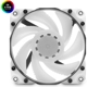 Ventilator 120 mm EK Water Blocks EK-Vardar X3M 120ER PWM D-RGB White (500-2200rpm)