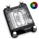 Waterblock CPU EK Water Blocks EK-Quantum EK-Velocity sTR4 D-RGB - Nickel + Plexi