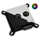 Waterblock CPU EK Water Blocks EK-Velocity Strike RGB - Matte Black + Silver