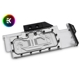 Waterblock VGA EK Water Blocks EK Vector RTX RE Ti RGB - Nickel + Plexi