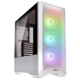 Carcasa Lian Li LANCOOL II Mesh RGB Tempered Glass White
