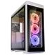 Carcasa Lian Li Alpha 550W RGB Tempered Glass White