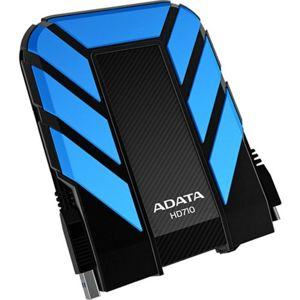 Hard disk extern 1TB AData DashDrive Durable HD710, 2.5 inch, USB 3.0, black/blue