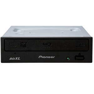 Blu-Ray Writer Pioneer BDR-209EBK, SATA, BD-XL, 3D, M-Disc, Negru, Retail Box (no software)