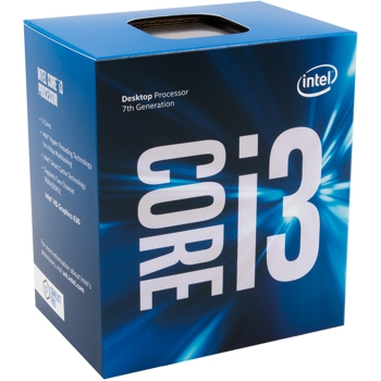 Procesor Intel Core i3-7100 Kaby Lake, 3.90GHz, socket 1151, Box, BX80677I37100