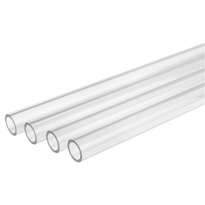 Pachet 4 bucati tub rigid Thermaltake V-Tubler PETG Tube, 16/12mm, transparent, 100cm