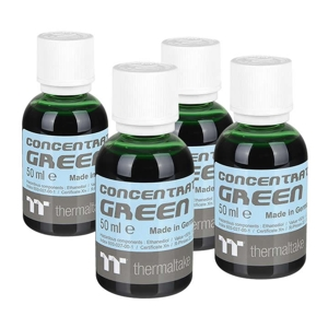 Pachet 4x 50ml concentrat Thermaltake TT Premium Green