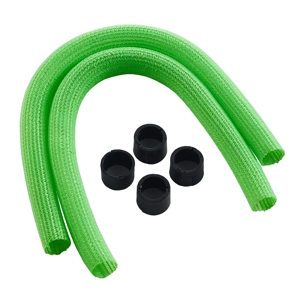Kit sleeving CableMod Series 1 pentru coolere AIO Corsair Hydro Gen 2 - Light Green
