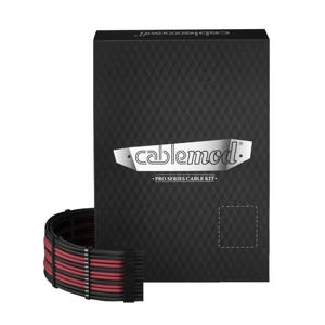 Set cabluri modulare CableMod PRO ModMesh C-Series RMi & RMx - Black/Blood Red