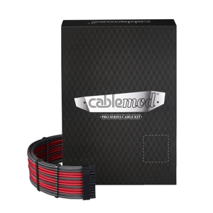 Set cabluri modulare CableMod PRO ModMesh E-Series G3, G2, P2, T2 - Carbon/Red