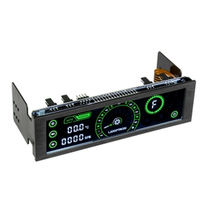 Fan controller Lamptron CM430 PWM Black/Green