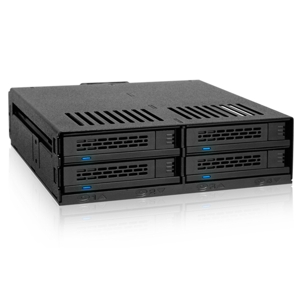 "Rack intern Icy Dock ExpressCage MB324SP-B 4x 2.5"" SATA/SAS HDD & SDD Mobile Rack Cage"