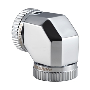 Adaptor Phanteks Glacier 90 grade 2x 16mm Hard Tube Chrome