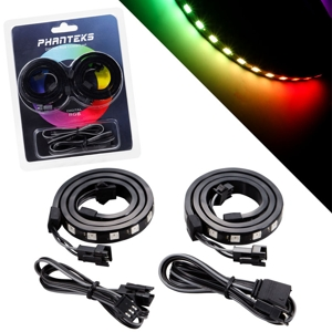Set benzi Phanteks Digital RGB LED Combo Kit 2x 40cm, PH-DRGBLED_CMBO_01