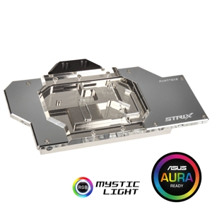 Waterblock VGA Phanteks Glacier GTX 1080/1070 Asus Strix, RGB, Chrome