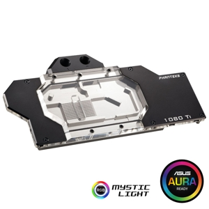 Waterblock VGA Phanteks Glacier GTX 1080 Ti Founders Edition, RGB, Black