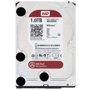HDD 1TB Western Digital WD Red NAS Hard Drive, 3.5 inch, SATA3, 64MB DDR2 cache, IntelliPower, WD10EFRX