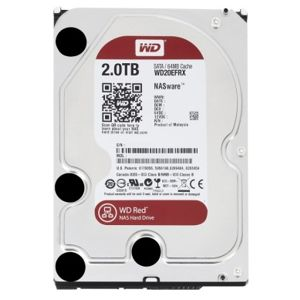 HDD 2TB Western Digital WD Red NAS Hard Drive, 3.5 inch, SATA3, 64MB DDR2 cache, IntelliPower, WD20EFRX
