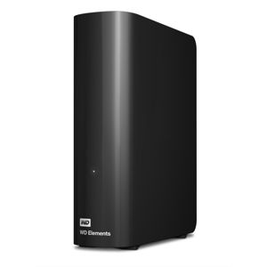 Hard disk extern 2TB Western Digital Elements, 3.5 inch, USB 3.0, Black, WDBWLG0020HBK
