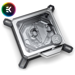 Waterblock CPU EK Water Blocks EK-Velocity RGB - Nickel + Plexi