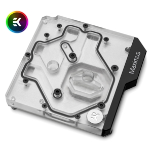 Waterblock all-in-one EK Water Blocks EK-Momentum ROG Maximus XI Hero D-RGB - Plexi