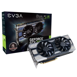 Placa video EVGA GeForce GTX 1070 Ti FTW2 Gaming iCX, 8GB GDDR5, 256-bit, 9 Thermal Sensors & RGB LED G/P/M, 08G-P4-6775-KR