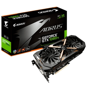 Placa video Gigabyte Aorus GeForce GTX 1080 Ti 11GB GDDR5X 352-bit, GV-N108TAORUS-11GD