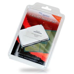 Coollaboratory Liquid MetalPad – High Performance CPU, inclus set curatare