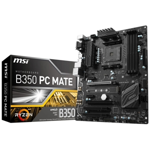 Placa de baza MSI B350 PC Mate, socket AM4