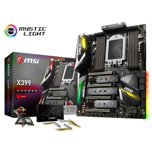 Placa de baza MSI X399 Gaming Pro Carbon AC, socket TR4