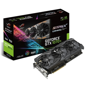 Placa video ASUS ROG Strix GeForce GTX 1070 Ti Advanced Gaming 8GB GDDR5, 256-bit, 1683 (1759) MHz, DVI-D, 2x HDMI, 2x DP