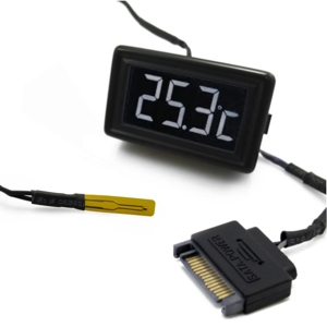 Senzor de temperatura XSPC LCD Temperature Display (Black/White) V3