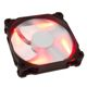 Ventilator 120 mm Phanteks PH-F120SP Red LED Black/White