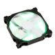 Ventilator 140 mm Phanteks PH-F140SP Green LED Black/White