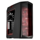 Carcasa Silverstone Primera PM01 Red LED Window Matte Black