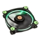 Ventilator 120 mm Thermaltake Riing 12 High Static Pressure Green LED Radiator Fan