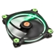 Ventilator 140 mm Thermaltake Riing 14 High Static Pressure Green LED Radiator Fan