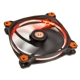 Ventilator 140 mm Thermaltake Riing 14 High Static Pressure Orange LED Radiator Fan