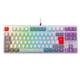 Tastatura mecanica gaming Xtrfy K4 TKL RGB Retro, UK Layout, Kailh Red, K4-RGB-TKL-RETRO-R-UK